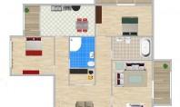 Apartament 3 camere, Bicaz – Dacia, 84mp