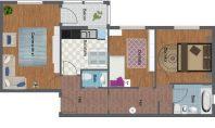 Apartament 3 camere, Nicolina, 72mp