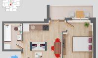 Apartament 2 camere, SunResidence, 41mp