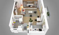 Apartament 1 camera, Nicolina-CUG, 41mp
