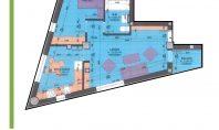 Apartament 2 camere, Nicolina Residence,57mp