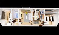 Apartament 3 camere, Podu Ros, 68mp