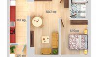 Apartament 2 camere, Galata-LIDL, 41mp