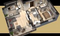 Apartament 3 camere, T. Vladimirescu, 76mp