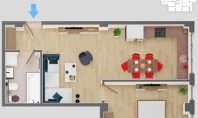 Apartament 2 camere, SunResidence, 46mp