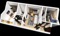 Apartament 2 camere, Tatarasi-Dispecer, 50mp