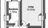 Apartament 1 camera, Metalurgie, 28mp