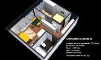 Apartament 2 camere, Nicolina-Cug, 48mp