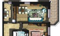 Apartament 2 camere, Copou, 65mp