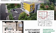 Apartament 2 camere, Galata, 55mp