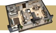 Apartament 2 camere, Tudor-Conest, 60mp