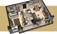 Apartament 2 camere, Tudor-Conest, 67mp
