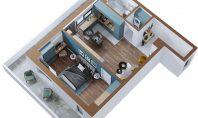Apartament 2 camere, Copou, 56mp
