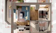 Apartament 2 camere, Copou, 61mp